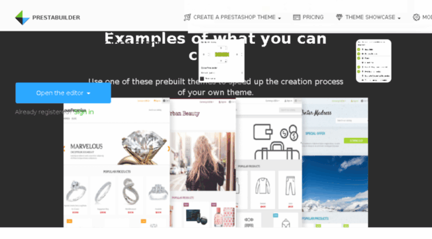 Create Your Own Prestashop Template with This Theme Maker Website