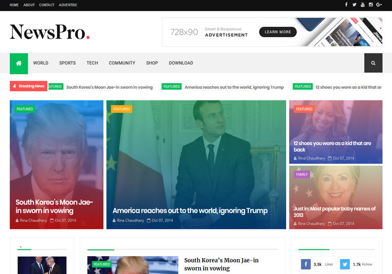 Build Your Own Online Magazines with These Great News WordPress Templates