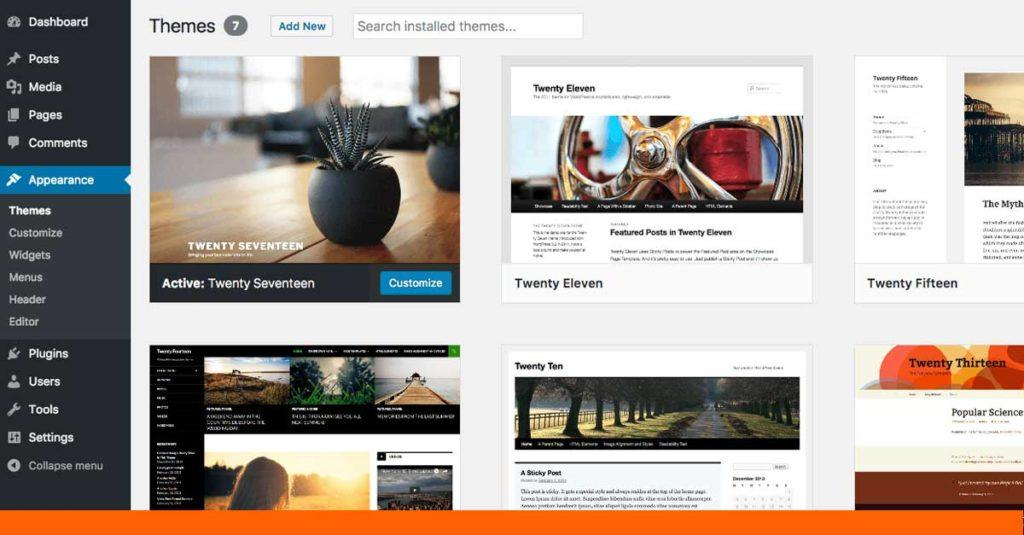 Customise Your WordPress Template with These Steps