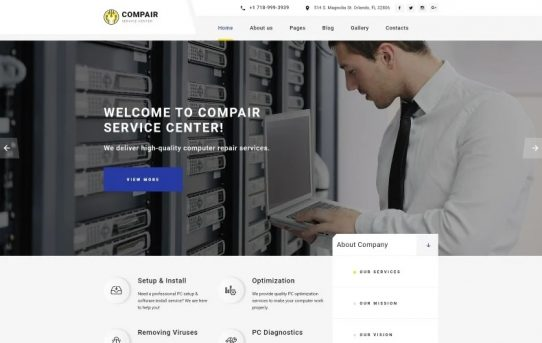 Joomla Best Selling Web Template 2020