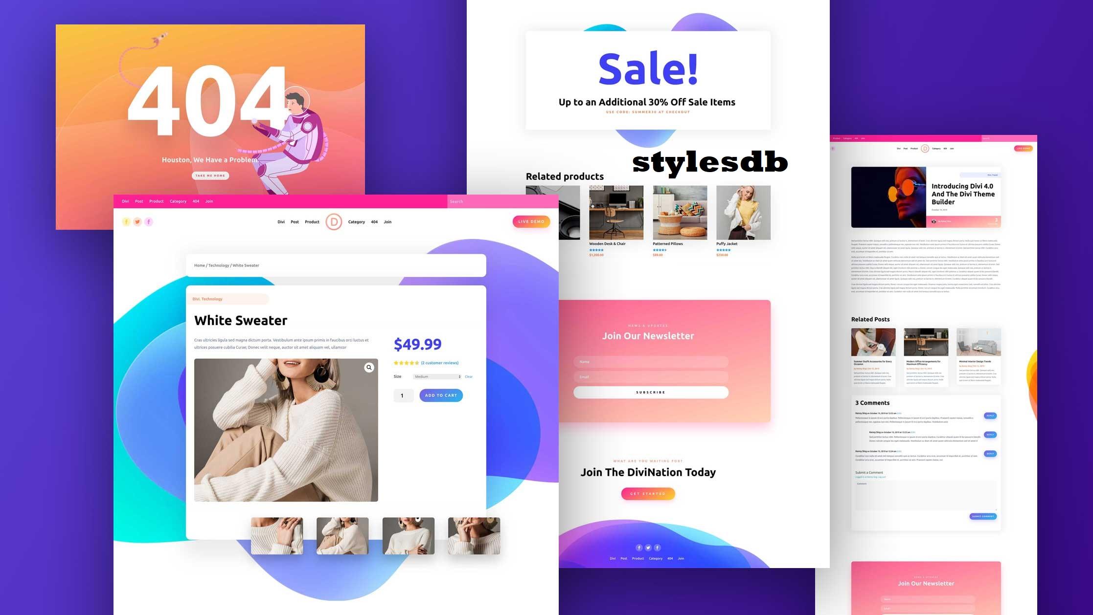 Theme Dari Divi Memberikan Banyak Pilihan Untuk Platform WordPress Dengan Desain Responsif